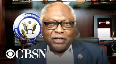 Congressman James Clyburn discusses Democrats' standoff over Biden's agenda