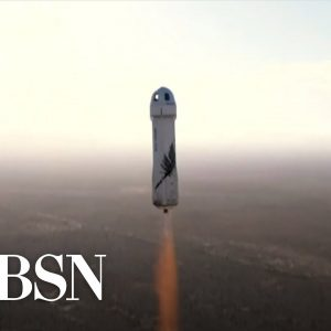 Special Report: William Shatner launches to space with Blue Origin crew